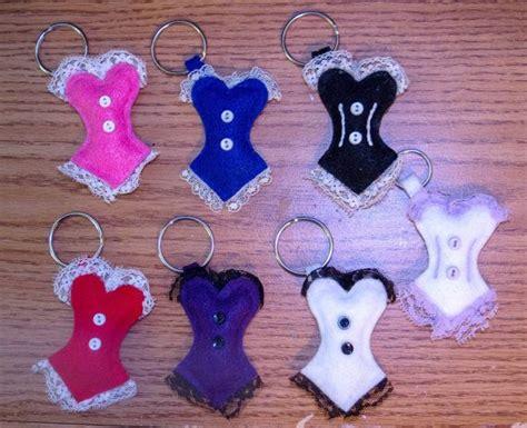 pattern keychain felt felt corset keychain corset felting and craft