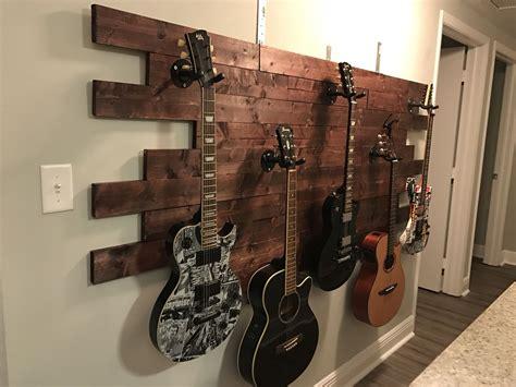 wall decor guitar luisa s guitar display pinterest idea wood wood glue