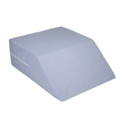 mabis dmi healthcare ortho bed wedge pillow 10 quot x 20 quot x 30 1 2 quot extra large blue cover ortho bed wedge on sale with unbeatable prices