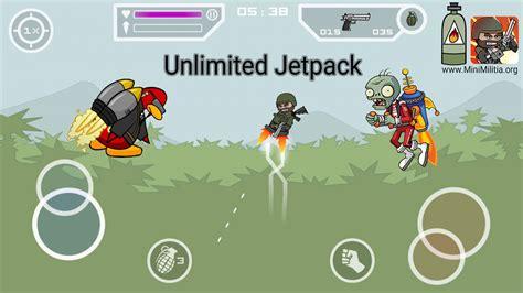 mod game mini militia mini militia unlimited nitro pack hack only jetpack mod