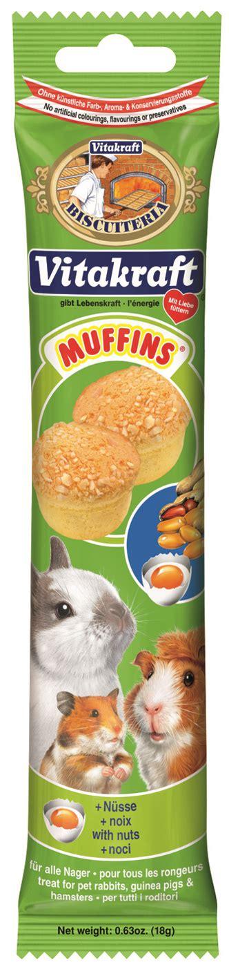 Vitakraft Snack Tasty Time vitakraft nut muffins hamster treats