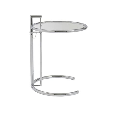 Clear Table L by Eurostyle Eileen Side Table In Clear Glass 08011