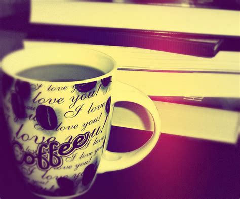 wallpaper coffee and books blue coffee and books by norange2011 on deviantart