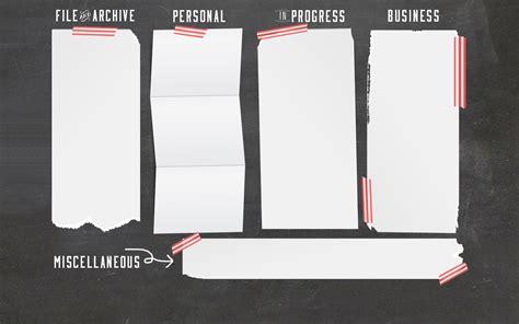 desk saver organization system chalkboard computer desktop wallpaper organizer free