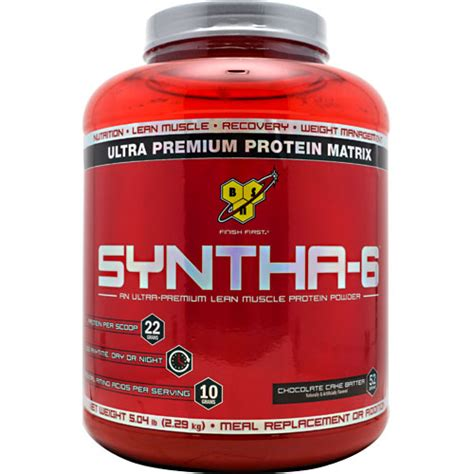 supplement syntha 6 bsn syntha 6 5 04lb supplement central