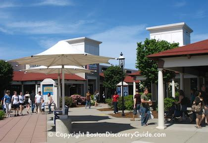 wrentham outlets boston discount shopping mall