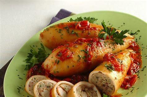 come cucinare i calamari al forno ricetta come preparare i calamari ripieni al forno