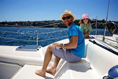 catamaran hire rose bay redballoon chagne sailing experience