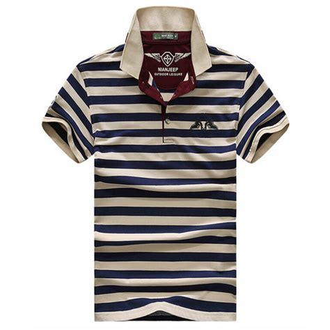 Casual Summer Polo Shirt Blue summer casual polo shirt lalbug