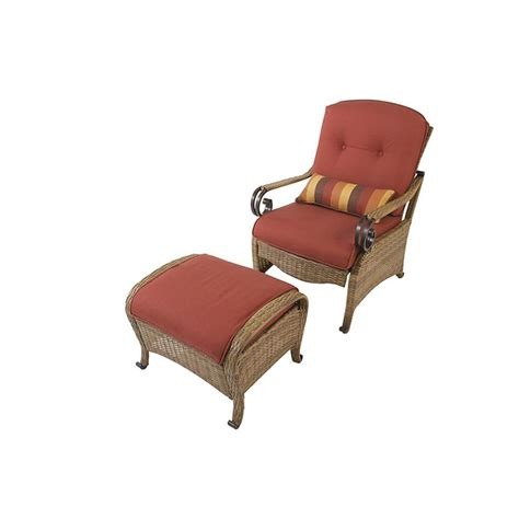 Patio Chair And Ottoman Set Martha Stewart Living Isle Collection Patio Chair And Ottoman Set Discontinued Dybie