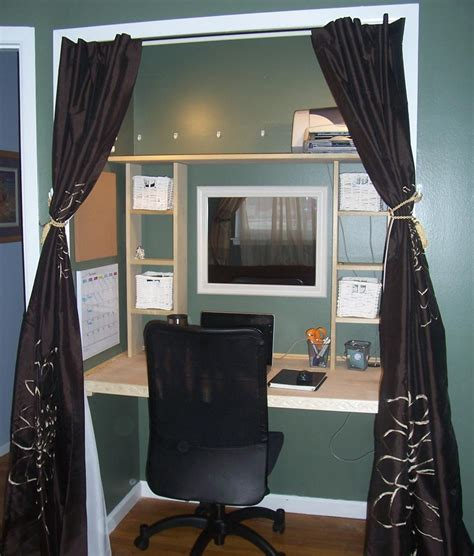 Turn A Closet Into An Office by Turn Your Closet Into A Home Office Corner