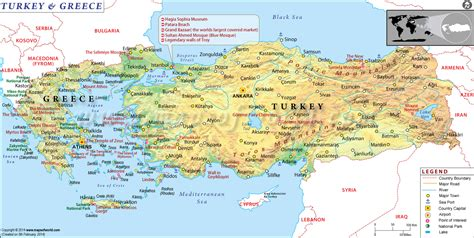 turkey map europe map of turkey and greece jamis greece trip