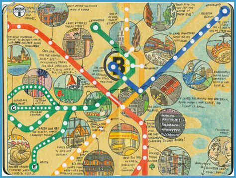 map of tourist attractions 2 boston map tourist attractions travelsfinders