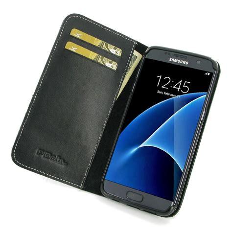 Best Leather Samsung Galaxy S7 Edge Wallet Premium Flip Cover Ca samsung galaxy s7 edge leather smart flip wallet pdair