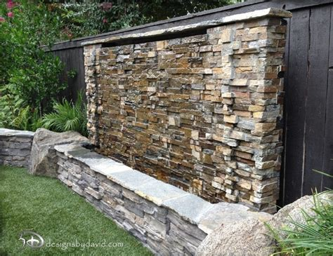 backyard wall 38 amazing outdoor water walls for your backyard digsdigs