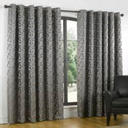 Heavy Grey Curtains Heavy Thick Lined Curtains Eyelet Duckegg Silver Grey Pewter Pair 66 90 108 D Ebay