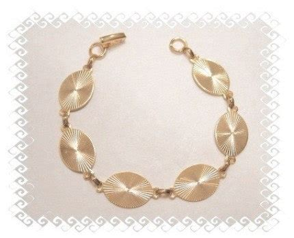 Bonding Pouch Oval link bracelet blanks gold plated large oval glue on pad