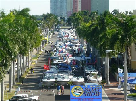 fort myers boat show the 40th annual fort myers boat show go boating florida