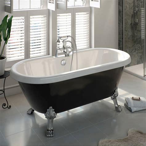 roll top bathtub the bath co shakespeare traditional roll top bath with dragon feet black