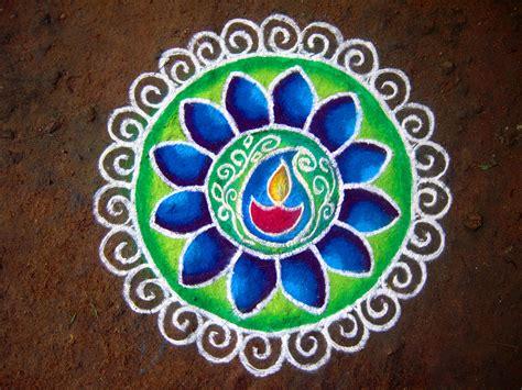 Diwali Decoration In Home by Emblem For Lightness Rangoli Atiredlibrarian