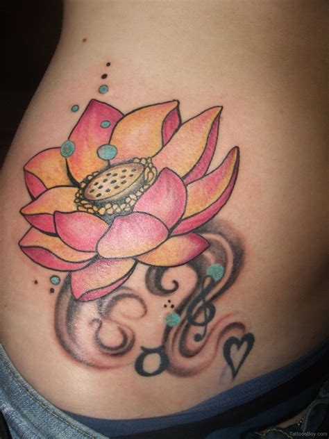 stomach flower tattoo designs stomach tattoos designs pictures page 6