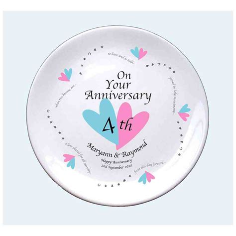 Wedding Anniversary Gift Guidelines by 4th Wedding Anniversary Gift Ideas Wedding And Bridal