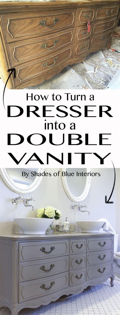 stunning bathroom tour dresser into vanity