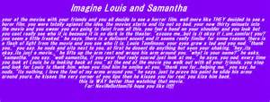 Louis tomlinson imagine dirty imagine for samantha by nadya