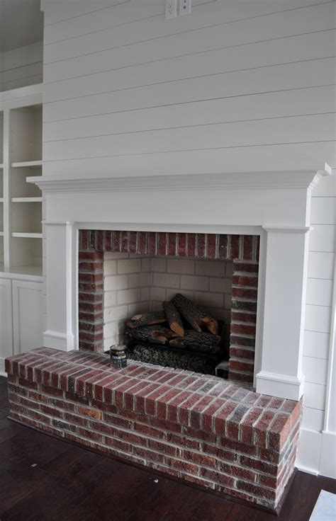 feuerstelle gemauert bricks fireplaces and paneled walls on