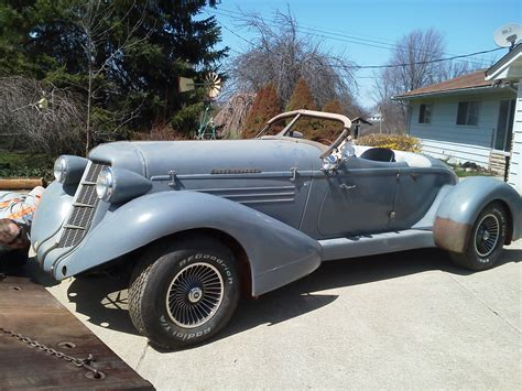 replica cars 1935 auburn speedster replica kit makes 1935 for