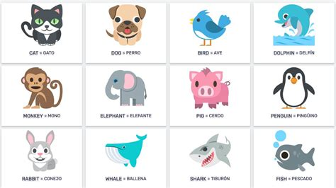 imagenes animales ingles animales en ingles pictures to pin on pinterest pinsdaddy