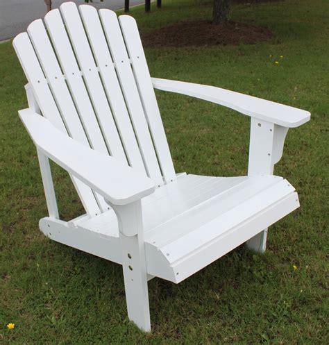 slat hardwood wood adirondack chair outdoor deck pool