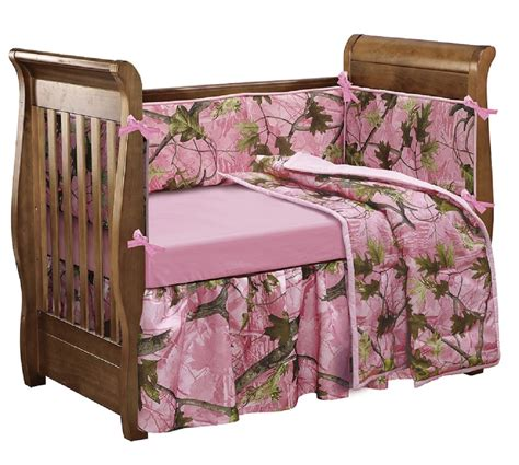 Realtree Crib Bedding Camo Crib Bedding Set For A