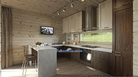 walnut cabinets kitchen modern cutting edge room design ideas