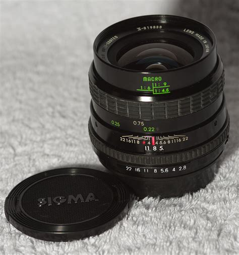 Sigmat Mini sigma 28mm mini wide macro f2 8 for sale