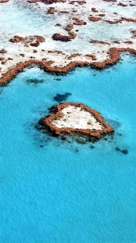 heart reef great barrier reef wallpapers hd wallpapers