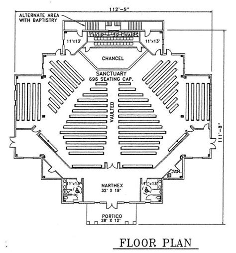 church building floor plans church plan 101 lth steel structures