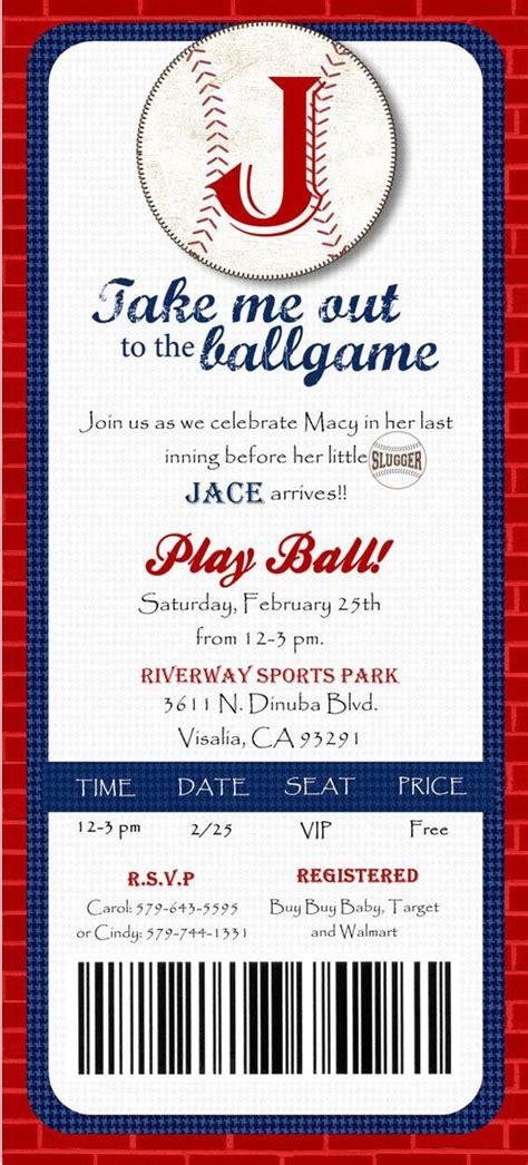 printable baseball tickets baseball ticket shower baseball ticket birthday