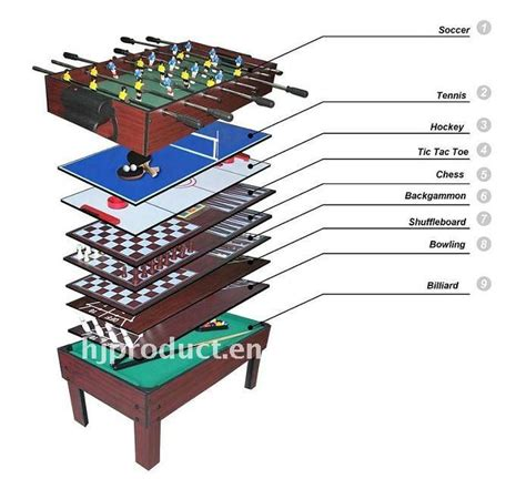 best multi table 5 in 1 pool table mdf multi purpose table for