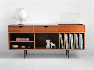 items similar to vintage swedish teak record cabinet mid