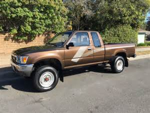 1989 Toyota 4x4 1989 Toyota Tacoma 4x4 4wd Auto Extended Cab
