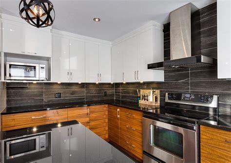 dosseret cuisine dosseret de cuisine noir image sur le design maison