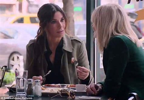 why does mindy kaling wear a wig on her show sandra bullock disguises herself in blonde wig in ocean s