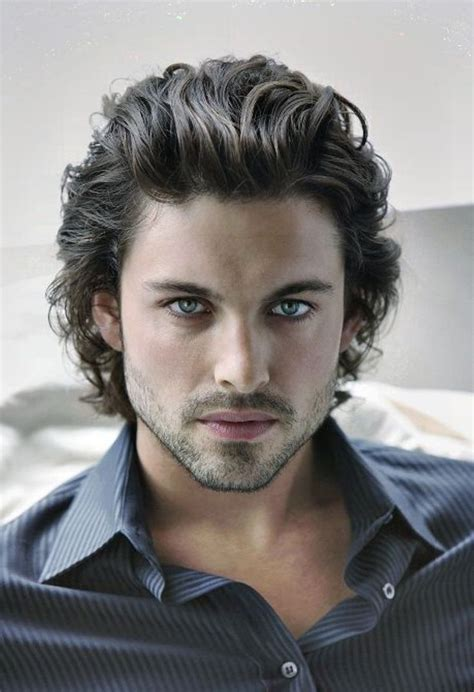 Longer Hairstyles For Guys by 17 Best Ideas About Curly Hairstyles On