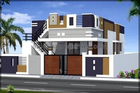 related image independent house house front design