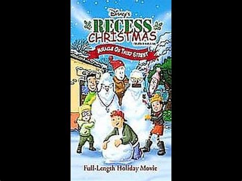 Recess Miracle On Third Free Opening To Recess Vhs Videolike