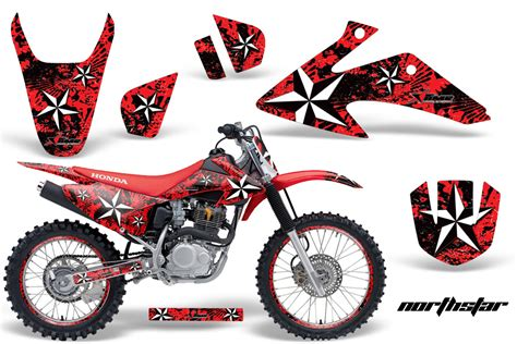 design graphics for dirt bike honda crf150f 230f graphic kit stickers and decals