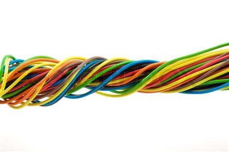 cable color bundle of color cable stock photo colourbox