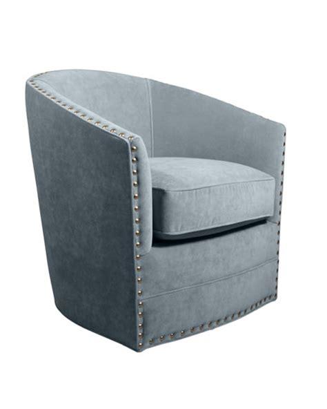 Bryn St Clair Sky Blue Velvet Swivel Chair Neiman Marcus Velvet Swivel Chair
