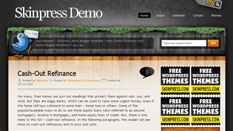 wordpress themes free unique 34 free wordpress themes